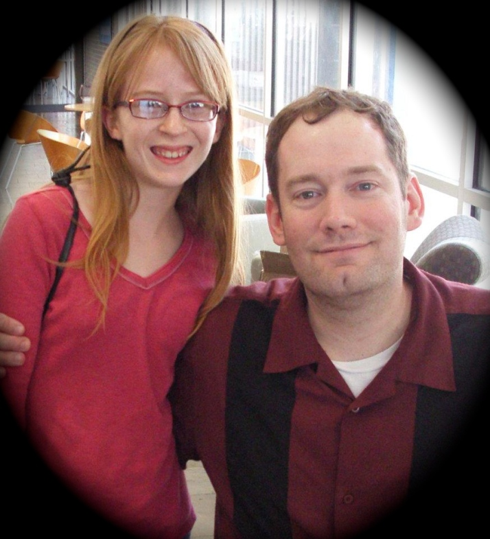 A 12-year-old version of me, meeting Brandon Mull!