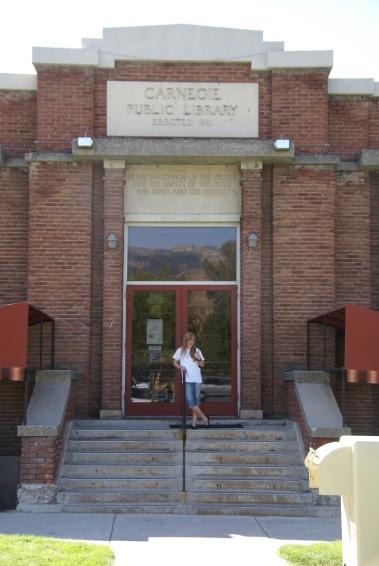 Carnegie Public Library in Utah!